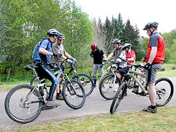 Mountain Bike Club Lochalsh and Skye - meet at Balmacara
