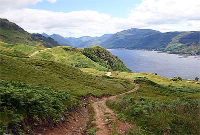Looking to Kintail from Inverinate