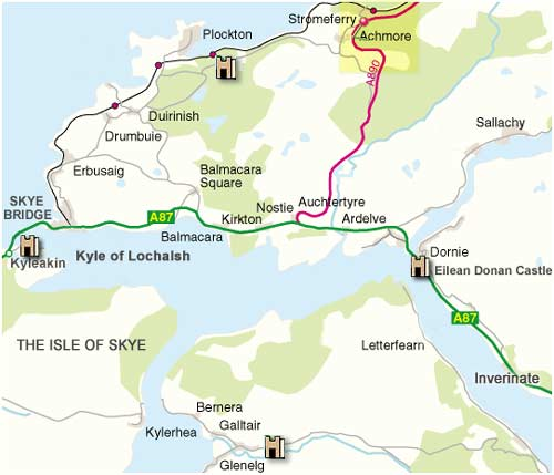 Map of Lochalsh