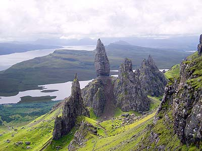 The Storr Staffn area Skye