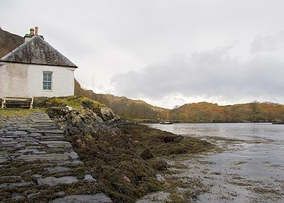 Old Ferry House at Totaig