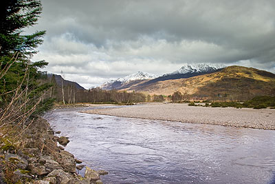 River Carron at Strathcarron