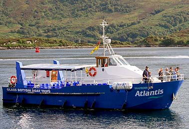 Seaprobe at Kyle of Lochalsh